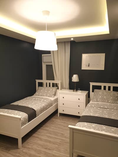 3 Bedroom Flat for Rent in Dair Ghbar, Amman - Luxury Furnished Apartment For Rent weekly or monthly 3 bedroom with Gym And Swimming Pool