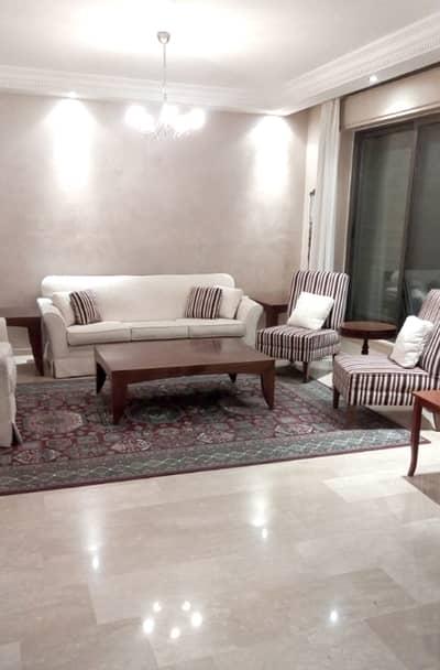 شقة 4 غرف نوم للايجار في الصويفية، عمان - شقة مفروشة 4 نوم في الصويفيه للإيجار السنوي