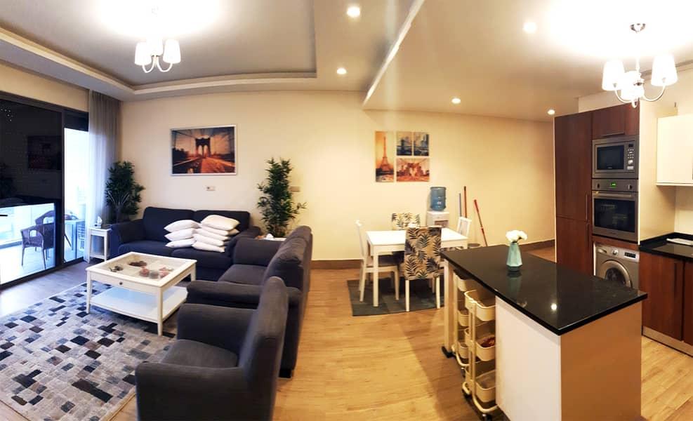 شقة مفروشة مميزة 3 نوم في عبدون للإيجار