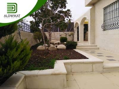 9 Bedroom Villa for Rent in Abdun, Amman - فيلا مميزة جدا للايجار في عبدون , مساحة البناء 1200 م - مساحة الارض 1056 م
