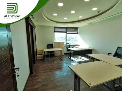 Office for Rent in Mecca Street, Amman - مكتب تجاري طابق رابع للايجار في شارع مكة بمساحة 110 م