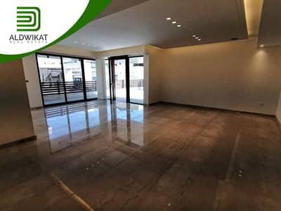 4 Bedroom Apartment for Sale in Abdun, Amman - شقة ارضية طابقية للبيع في عبدون , مساحة البناء 450 م - مساحة الترس 100 م