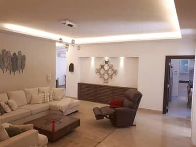 فلیٹ 3 غرف نوم للايجار في عبدون، عمان - شقة ارضية فخمة 280 متر مع حديقة للإيجار في عبدون