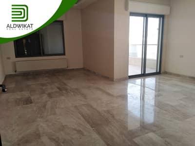 فلیٹ 3 غرف نوم للايجار في الكرسي، عمان - شقة طابق ثالث للايجار في الاردن - عمان - الكرسي مساحة البناء 185 م