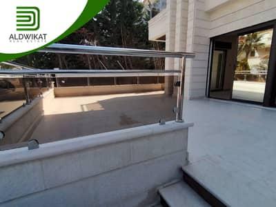شقة 4 غرف نوم للبيع في الكرسي، عمان - شقة ارضية فاخرة و جديدة لم تسكن للبيع في الكرسي , مساحة البناء 210 م - مساحة الترس 50 م