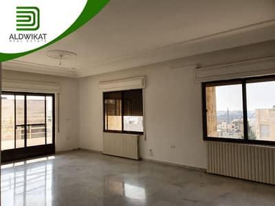 3 Bedroom Flat for Rent in Um Uthaynah, Amman - شقة طابق ثالث للايجار في الاردن - عمان - أم أذينه مساحة البناء 210 م