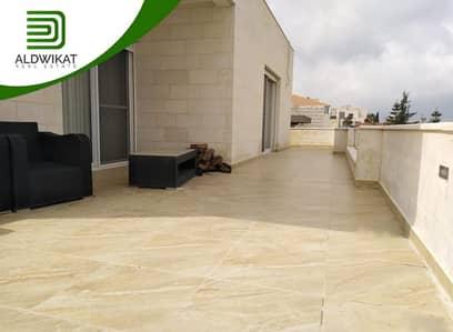 3 Bedroom Apartment for Rent in Dabouq, Amman - شقة طابق اول مع روف جزء من فيلا للايجار في دابوق