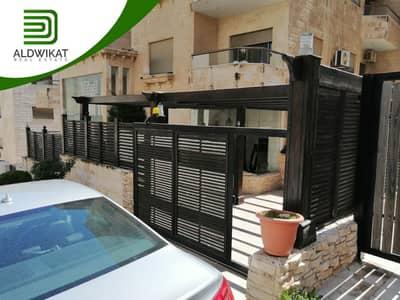 فلیٹ 3 غرف نوم للبيع في دير غبار، عمان - شقة ارضية للبيع في دير غبار مساحة البناء 178 م مساحة الترس والحديقة 70 م