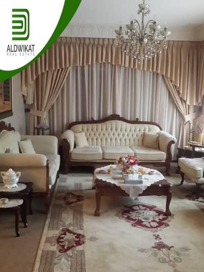 4 Bedroom Villa for Sale in Al Ameer Rashed District, Amman - فيلا مستقلة للبيع في ضاحية الامير راشد مساحة البناء 325 م مساحة الارض 710 م