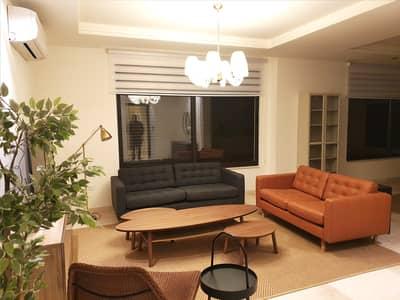 شقة 3 غرف نوم للايجار في جبل عمان، عمان - شقه مفروشه فخمه و جديده في جبل عمان 3 نوم للايجار