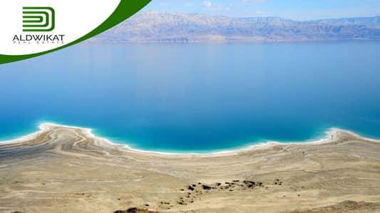 ارض سكنية  للبيع في الشونه الجنوبيه، السلط - تملك أراضي بأجمل إطلالة على البحر الميت