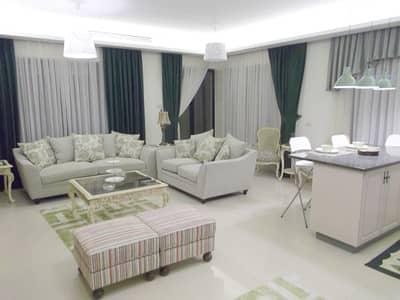 شقة 2 غرفة نوم للايجار في الصويفية، عمان - شقه ارضيه مفروشه للإيجار الصويفيه 2 نوم
