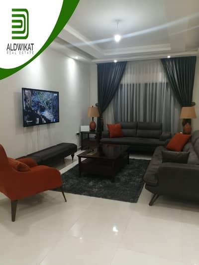 4 Bedroom Flat for Sale in Rabyeh, Amman - شقة طابق ثالث مع روف للبيع في الرابية مساحة البناء الاجمالية 240 م مساحة الترس 20 م