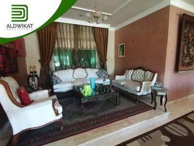فلیٹ 4 غرف نوم للبيع في الفحيص، السلط - شقة ارضية مع سطح للبيع في الفحيص مساحة البناء 250 م مساحة سطح 250 م