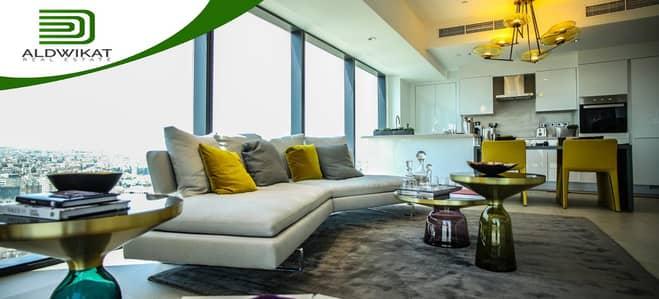 فلیٹ 2 غرفة نوم للايجار في العبدلي، عمان - شقة 120م2 بإطلالة مميزة للإيجار في ابراج الدبليو، العبدلي