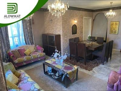 فلیٹ 3 غرف نوم للبيع في تلاع العلي، عمان - شقة مفروشة طابق ثالث للبيع في تلاع العلي مساحة البناء 123م2