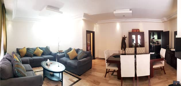 3 Bedroom Flat for Rent in Al Kursi, Amman - Fully Furnished Apartment Ground Floor For Rent In Al Kursi