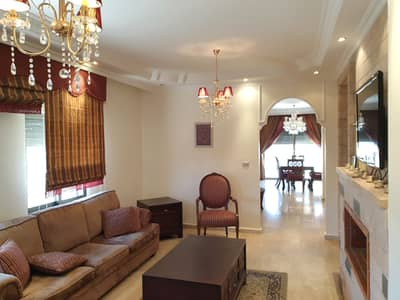 4 Bedroom Flat for Rent in Abdun, Amman - Roof In Abdoun Fully Furnished for Rent
