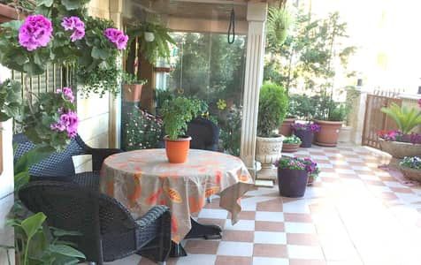 3 Bedroom Flat for Rent in Dair Ghbar, Amman - Furnished Ground Floor Apartment  for Rent in Dair Ghbar