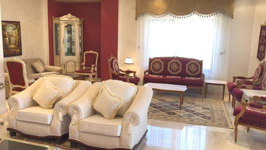 4 Bedroom Flat for Rent in Dair Ghbar, Amman - Fully Furnished Apartment For Rent in Dair Ghbar