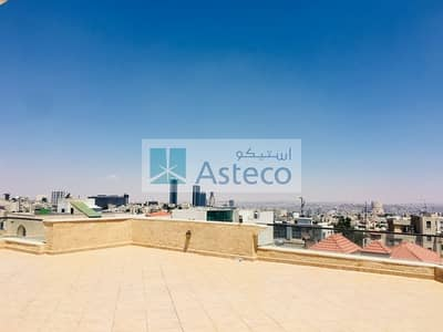 4 Bedroom Flat for Rent in 5th Circle, Amman - High-End Apartment with Large Roof Terrace and Views in 5th Circle 2584