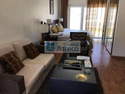 شقة فندقية  للايجار في عبدون، عمان - Hotel Studio Apartment in Abdoun 1381
