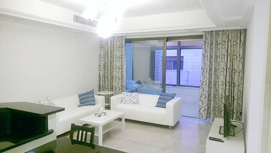2 Bedroom Flat for Sale in Shmeisani, Amman - Furnished apartment for rent in Shimasani, with an area of 100 SQM
