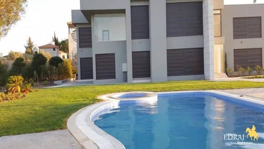 Farm for Sale in Jerash - 720 sqm super deluxe villa buit on 1000 sqm land for sell