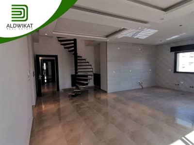 3 Bedroom Flat for Sale in Um Al Summaq, Amman - Last floor apartment with roof for sale in the highest area of Um Al Summaq