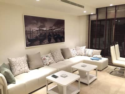 3 Bedroom Flat for Rent in Abdun, Amman - Furnished apartment for annual rent in Abdun