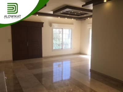 3 Bedroom Flat for Sale in Al Jubaiha, Amman - Distinctive ground floor apartment for sale in Al Jubaiha with space of 175 SQM