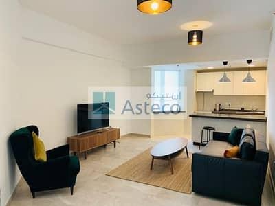 فلیٹ 1 غرفة نوم للايجار في العبدلي، عمان - Balcony Apartment with Communal Facilities for rent in Al Abdali 2695