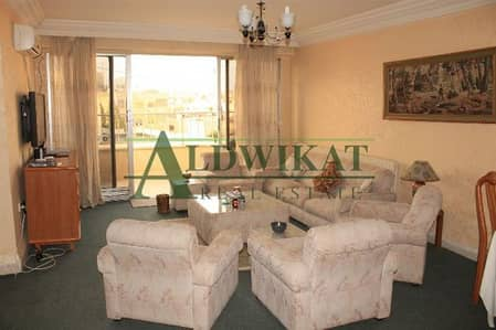 2 Bedroom Flat for Rent in 5th Circle, Amman - شقة مفروشة للايجار في منطقة الدوار الخامس
