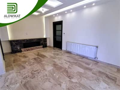 3 Bedroom Flat for Sale in Al Swaifyeh, Amman - Last floor apartment with a distinctive roof for sale in Al Swaifyeh, building area 168 SQM