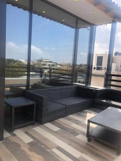 2 Bedroom Flat for Rent in Abdun, Amman - Furnished brand new roof apartment for rent in Abdun