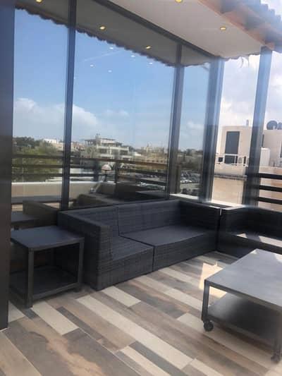 فلیٹ 2 غرفة نوم للايجار في عبدون، عمان - Furnished brand new roof apartment for rent in Abdun