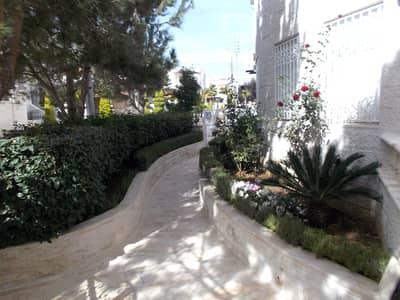 3 Bedroom Flat for Rent in Al Kursi, Amman - Ground Floor With Garden For Rent In Al Kursi