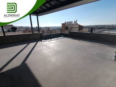 3 Bedroom Flat for Sale in Um Uthaynah, Amman - Last floor Apartment with roof for sale in Um Uthaynah | 200 SQM