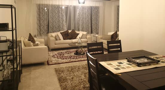 3 Bedroom Flat for Rent in Um Uthaynah, Amman - distinctive furnished apartment for rent in Um Uthaynah, Area of 170 SQM
