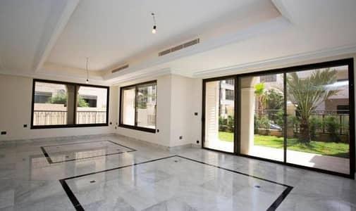4 Bedroom Flat for Sale in Al Swaifyeh, Amman - شقة طابق ارضي دوبليكس للبيع في اجمل مناطق الصويفية مع حديقة خارجية