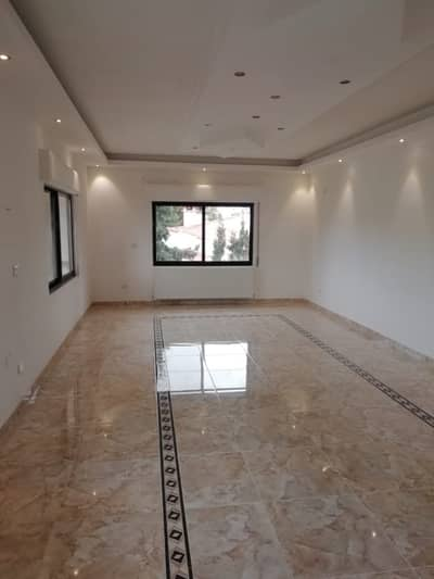 3 Bedroom Flat for Rent in Rabyeh, Amman - Empty apartment for rent in Rabyeh | 190 SQM