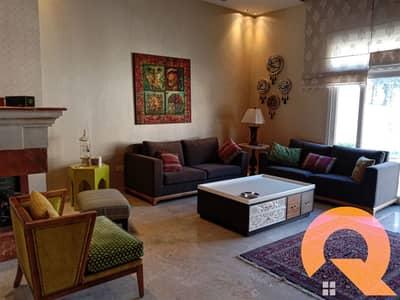 3 Bedroom Villa for Rent in Dabouq, Amman - Distinctive furnished villa for rent in Dabouq