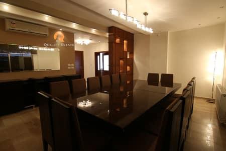 فلیٹ 4 غرف نوم للايجار في دابوق، عمان - شقة طابق أخير مع روف للإيجار في دابوق   400 م2