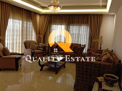 4 Bedroom Flat for Rent in Dair Ghbar, Amman - A very luxurious furnished apartment for rent in Dair Ghbar   280 SQM