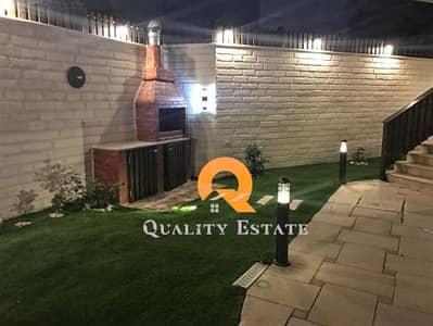 فیلا 3 غرف نوم للايجار في الصويفية، عمان - 2فيلا متلاصقة للأيجار في منطقة الصويفية 260م2 مع حديقة 200م