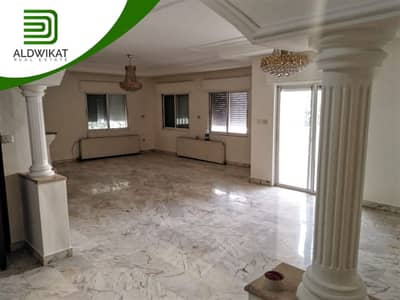 4 Bedroom Flat for Rent in Khalda, Amman - First-floor apartment for rent in Khalda, with an area of 400 SQM