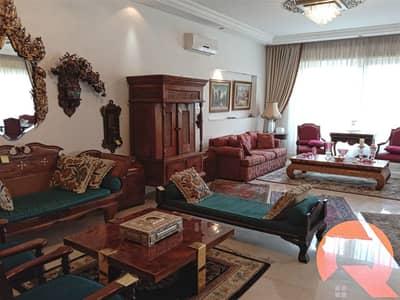 فلیٹ 3 غرف نوم للايجار في عبدون، عمان - شقة مفروشة للإيجار في عبدون | 215 م2
