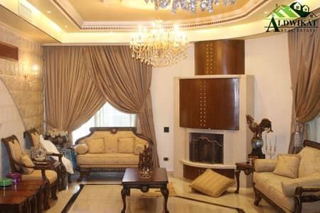 فیلا 8 غرف نوم للبيع في أم السماق، عمان - فيلا فخمة شبه قصر للبيع في اجمل المواقع في ام السماق