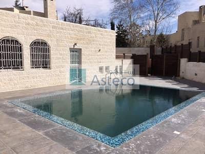 فیلا 5 غرف نوم للايجار في عبدون، عمان - Villa with swimming pool in Abdun 1044