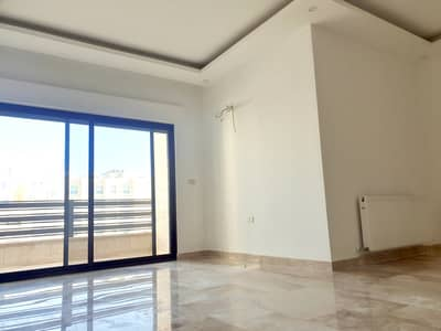 3 Bedroom Flat for Sale in Khalda, Amman - Brand new apartment with roof for sale in Khalda